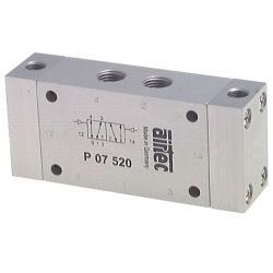 Valve pneumatique à impulsions - 5/2-voies - -0,95 jusque 12 bar - air comprimé-