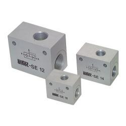 """Soupape d'échappement rapide - Aluminium anodisé - Conception de précision. - IT G 1/8"""" à G 3/4"""" - Débit jusqu'à 5600 l/min - PN jusqu'à 10"""