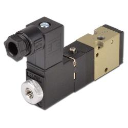 Solenoid Valve - 3/2-Way - With Spring Retraction - Currentless Open - 1,5 To 10