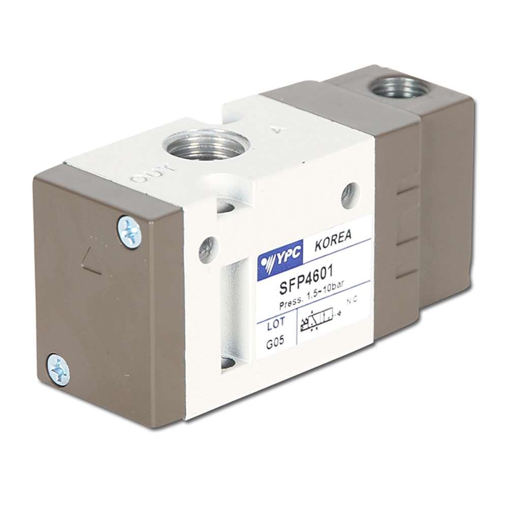 "Pneumatisk ventil - 3/2-vägs - 1,5-10 bar - G 1/4"" - byggserie SF4000"