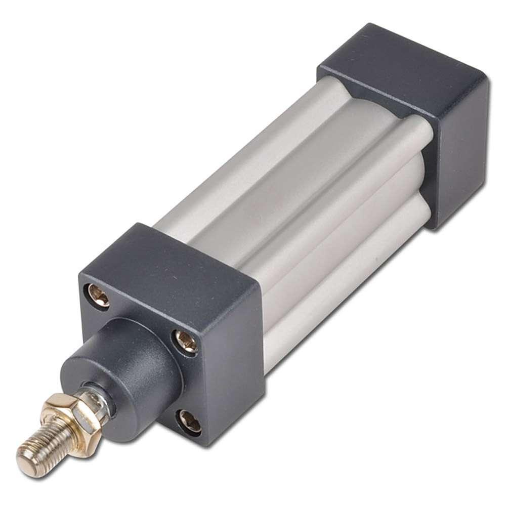 Pneumatikzylinder doppeltwirkend - ISO 15552 (ISO 6431) - verstellbare Endlagend