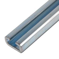 C-Tragschiene - für Rohrschellen schwere Baureihe - Baugröße 1 bis 4 - Länge 1 oder 2 m