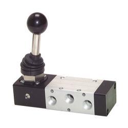 """Distributeur à levier - 5/2 voies - G 1/4"""" - gamme XMV 2000"""