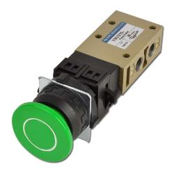 "Button Valve - 3/2-Way Switch And Rotary Switch - G 1/8""- Series YMV300"