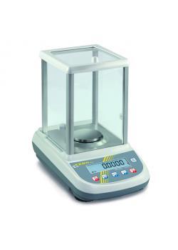 Waage - max. Wägebereich 160 bzw. 250 g - mit Glaswindschutz