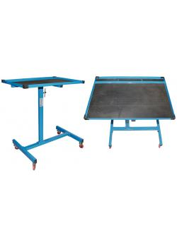 Mobile table - adjustable height - max. 23 Kg