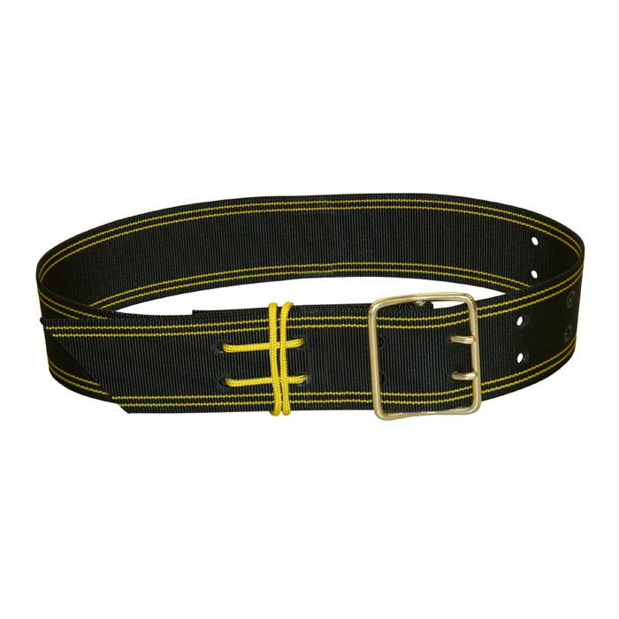 Bell strap - 100% polyester - with double round spike buckle