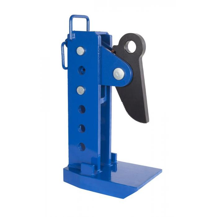 Lyftklämma PLANETA MPC - horisontellt - för stålplåtförpackningar - Gripområde 0 till 240 mm - lastkapacitet 3 till 8 t - Pris per par