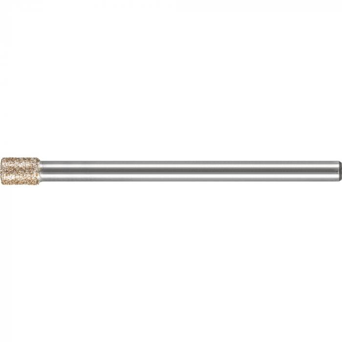 PFERD CBN-Schleifstift - Zylinderform ZY - Korngröße B 151 - Außen-ø 4,0 bis 8,0 mm - Schaft-ø 3 und 6 mm