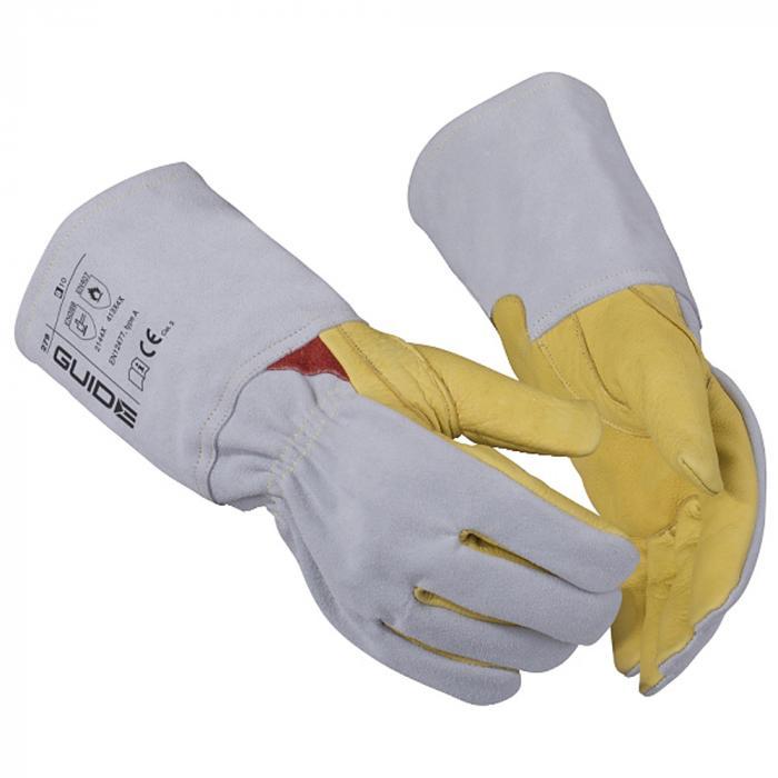 Schutzhandschuhe 70 Guide - Rindnarbenleder - Größe 12 - 1 Paar - Preis per Paar