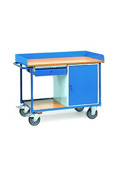 Workshop trolleys - surround - 1 cupboard and 1 drawer