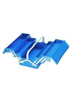 Werkzeugkasten - ohne Werkzeug - 5 Fächer - Stahlblech