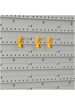 Haken-Set StorePlus Flex P 30+40 - Länge 8 x 30 mm, 8 x 40 mm - Material Polypropylen