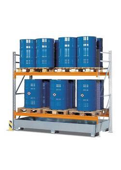 Portapallet PR 27.25 - per 6 euro o 4 pallet chimici - con 2 livelli di stoccaggio - diverse versioni