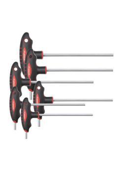 Zestaw kluczy imbusowych GEDORE czerwony 2K T-uchwyt - sześciokąt wewnętrzny - 6-częściowy