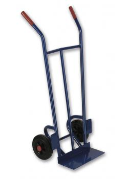 "Tubular steel truck ""T55"" - capacity 200 kg - blade depth 150 mm"