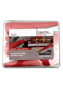 Valcon® universal serviceplugg - integrerade tätningskanter - DN 2 - 42 mm - 4-pack