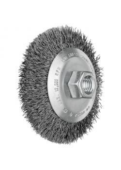 Kegelbürste - PFERD - mit Gewinde, ungezopft - mit Stahldraht - VE 5 Stück - Preis per VE