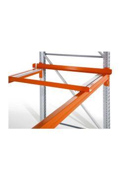 Aufstellrahmen - für Gitterboxen - für Palettenregal PO - orange