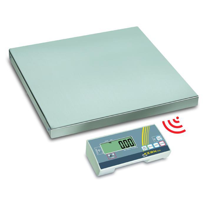 Waage - max. Wägebereich 35 bis 300 kg - Auswertegerät mit Funkmodul
