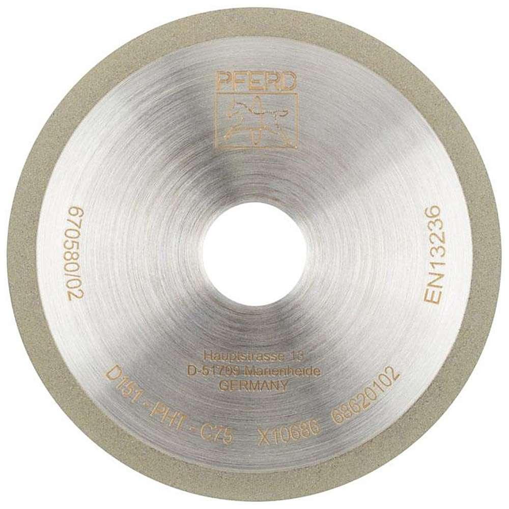 Diamant-Schleifwerkzeug - PFERD 1A1R - Korngröße D 126