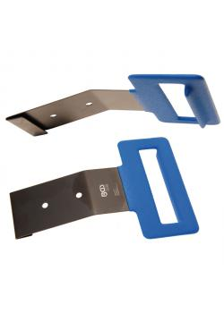 Edge protection and sealing rubber-solver - with dip coated handle