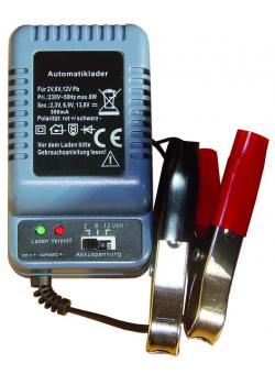 Battery charger - for 2/6/12 V