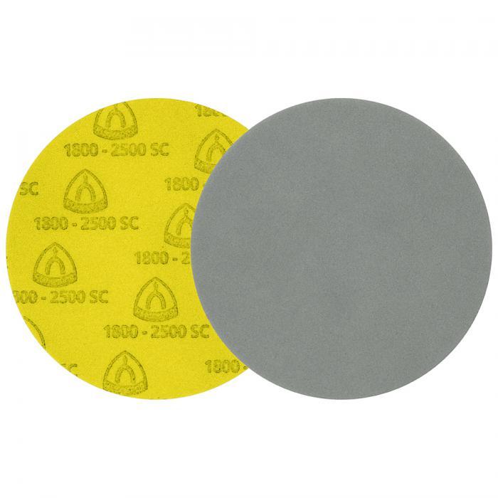 Schleifscheibe FD 500 - Durchmesser 125 bis 150 mm - Korn 1000 bis 3000 - kletthaftend - VE 10 Stück - Preis per VE