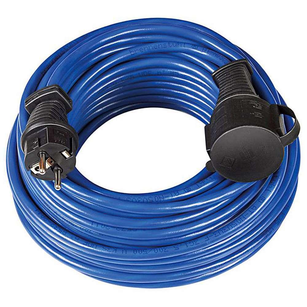 Verlängerungskabel IP 44 - Bremaxx - N05V3V3-F 3G1,5 - blau