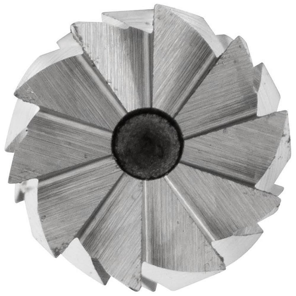 Frässtift - PFERD - Hartmetall - Schaft-Ø 6 mm - Zahnung 3 bis 5 - mit Stirnverzahnung