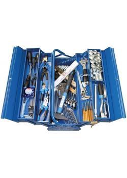 Werkzeugkiste - Metall-Ausführung - inkl. Werkzeuge - 137-tlg.
