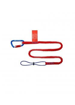 Werkzeug-Sicherungssystem - Fangleine mit Materialkarabiner - Länge 285 mm