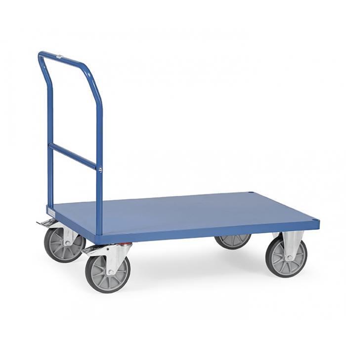 Carrello di trasporto - con manubrio e piattaforma in metallo