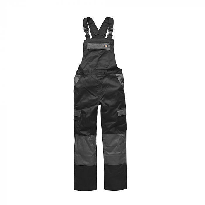 Latzhose Everyday - Dickies - Größe 44 bis 62 - schwarz/grau