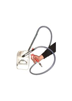Soda sprängpistol - Soda sprängningsprincip - Professionell version med komplett utrustning - Luftförbrukning 400 till 800 l / min