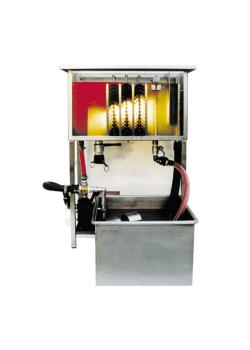 Plattenphasentrenner PPT Mini - Edelstahl - Volumenstrom 100 l/h - Betriebstemperatur bis 90 °C