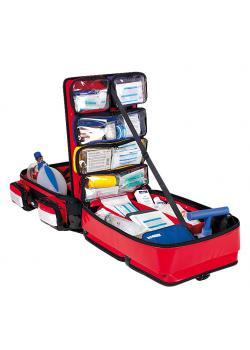 Profil nødsituation rygsæk rød forskellige fyld - DIN 13232