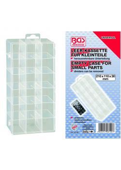 Sortimentskasten - für Kleinteile - 210 x 110 x 30 mm