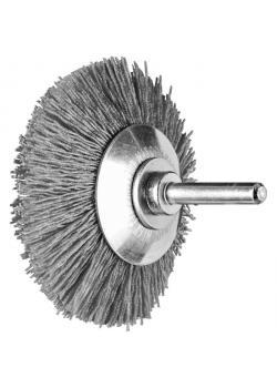 Kegelbürste - PFERD - ungezopft, aus Keramikkorn - mit Schaft - für NE-Metall u.a.
