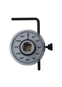 """Drehwinkelmessgerät zum Winkelanzug - 1/2""""-Antrieb - Skala  0 bis 360°"""