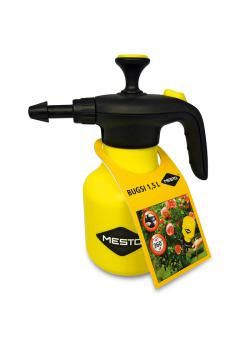"Pressure sprayer ""BUGSI"" - swivel 360 ° - - with NBR seal Filling contents 1.5 l - Empty weight 0.42 kg"