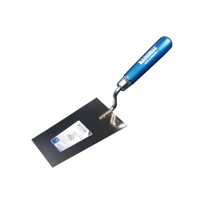 Berner Putzkelle - rostfrei - 140 bis 160 mm - blaues Heft