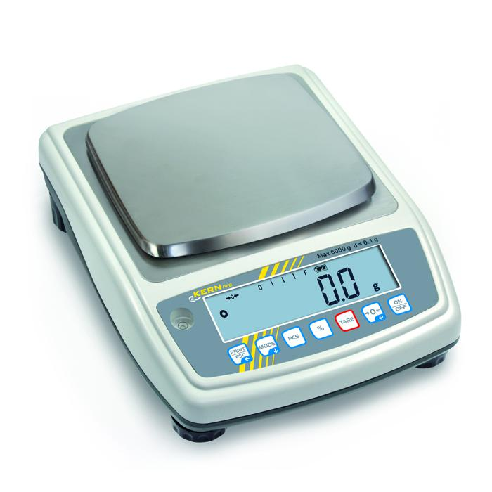 Waage - max. Wägebereich 0,3 bzw. 3 kg - mit Schnellanzeige