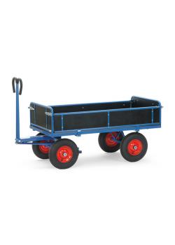 Hand truck - up to 1250 kg - with sideboards - 3 folding sides