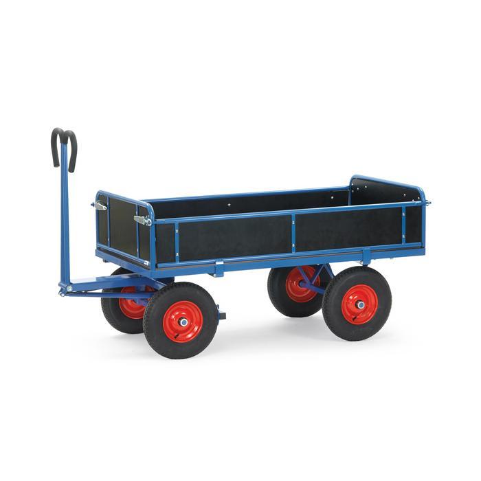 Camion di mano - fino a 1250 kg - con credenze - 3 lati pieghevoli