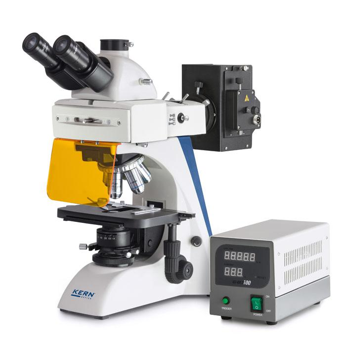 Mikroskoopin - trinokulaaritubus - loiste asetus