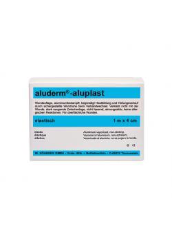 Aluderm® aluplast - elastisk - 4-6 cm - vit
