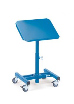 Material stand - tiltable - Height adjustable 500-770 mm - carrying capacity 150 kg