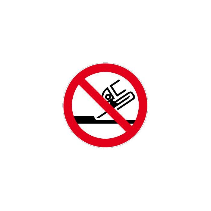 """Verbotszeichen - """"Nicht zul. für Seitenschleifen"""" Durchmesser 5-40 cm"""
