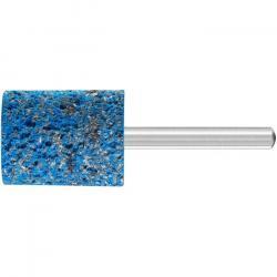 Schleifstift - PFERD Poliflex® - Schaft-Ø 6 mm - zum Strukturieren von Edelstahl - Bezeichnung PF ZY 2530/6 CU 16 PU-STRUC - Besatzmaße (D x T) 25 x 30 mm